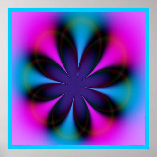 Floral Aura Poster
