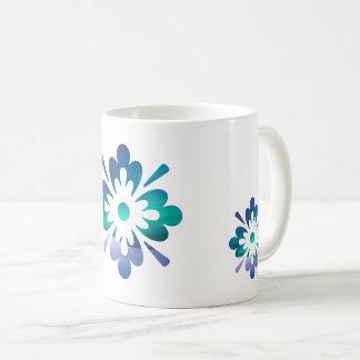 Floral Aurora Northern Lights Mountainscape Mug