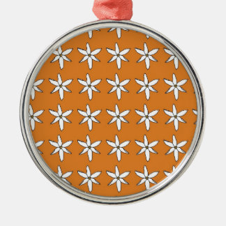 Floral Autumn Christmas Ornament