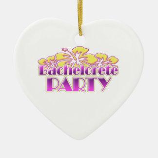 floral bachelorette party bridal shower wedding ornaments