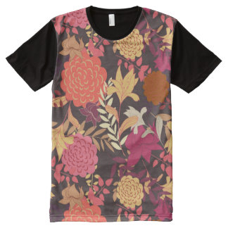 Floral background 2 All-Over print T-Shirt