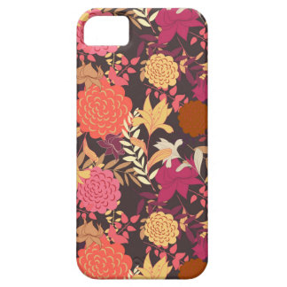 Floral background 2 barely there iPhone 5 case