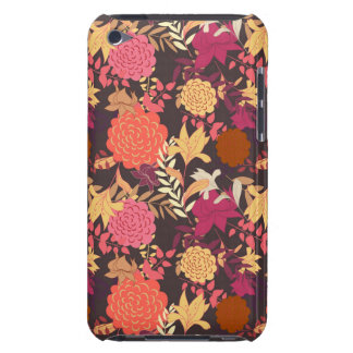 Floral background 2 barely there iPod case