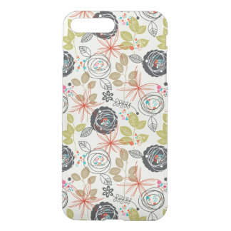 Floral background 2 iPhone 8 plus/7 plus case