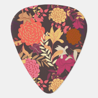 Floral background 2 plectrum