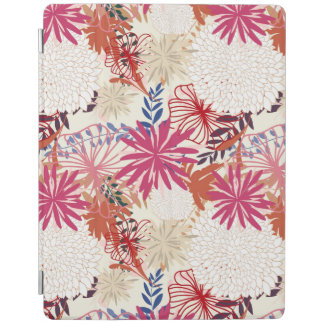 Floral background 3 iPad cover