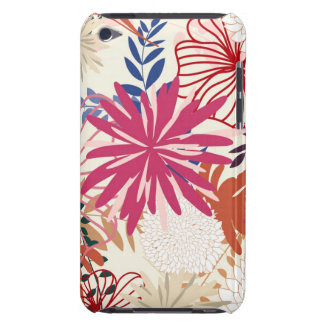 Floral background 3 iPod Case-Mate cases