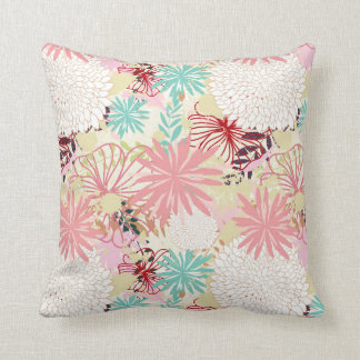 Floral background 4 cushion