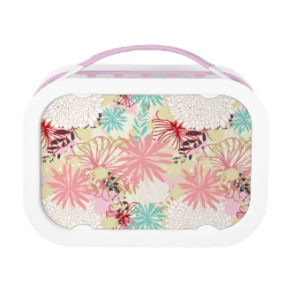 Floral background 4 lunch box