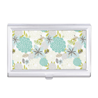 Floral background 5 business card holder