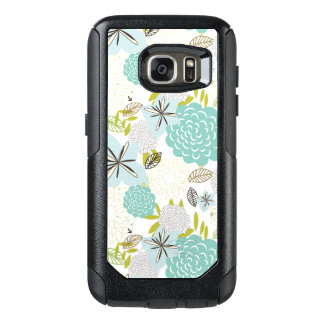 Floral background 5 OtterBox samsung galaxy s7 case