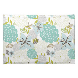 Floral background 5 placemat