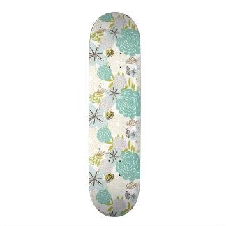 Floral background 5 skateboard