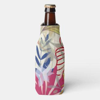 Floral background 6 bottle cooler