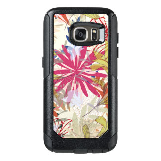 Floral background 6 OtterBox samsung galaxy s7 case