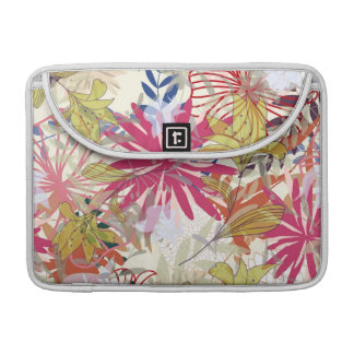 Floral background 6 sleeve for MacBook pro