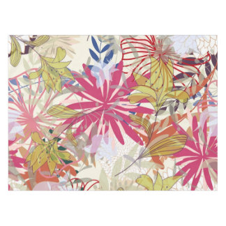 Floral background 6 tablecloth
