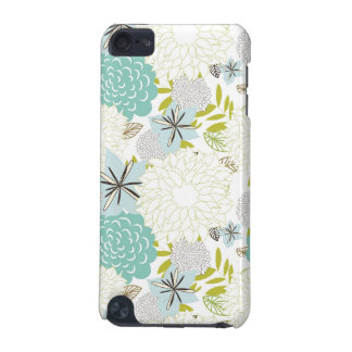 Floral background iPod touch 5G covers