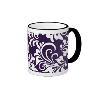 floral background mugs