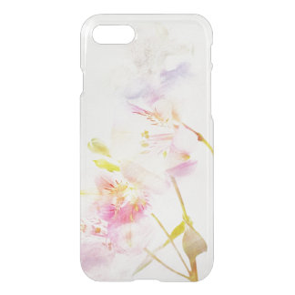 floral background with watercolor flowers iPhone 8/7 case
