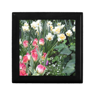 Floral Beauty Small Square Gift Box