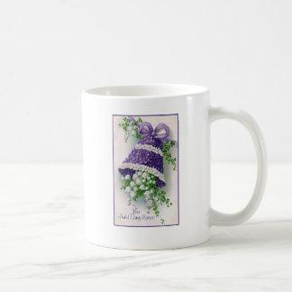 Floral Bell Vintage New Year Mug