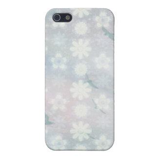 Floral Birds Pattern iPhone 5 Covers