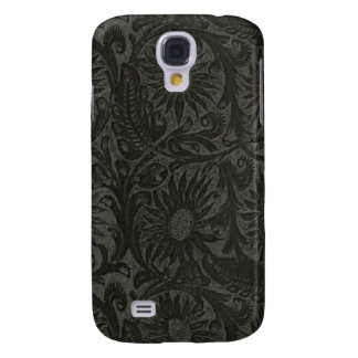 Floral Black Leather Print Speck Case iPhone 3G/GS Galaxy S4 Case