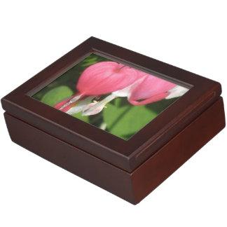 Floral Bleeding Heart Keepsake Gift Box
