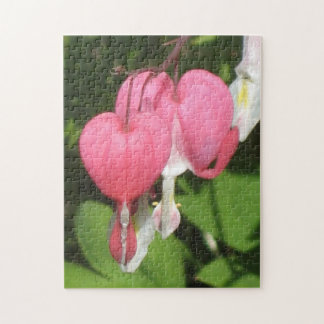 Floral Bleeding Heart Photo Puzzle & Gift Box