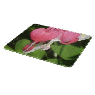 Floral Bleeding Heart Small Chopping Board
