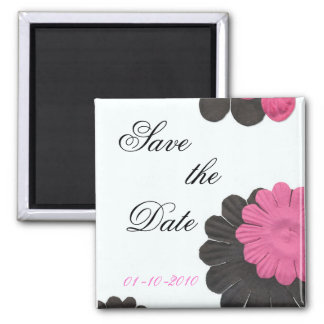 Floral Bliss Square Magnet