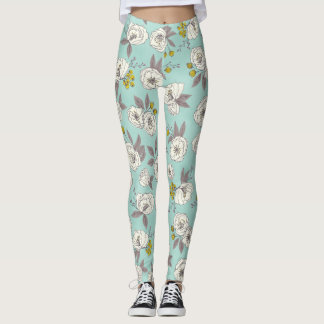 Floral Blooms Leggings