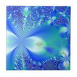 Floral Blue Ceramic Tiles