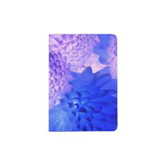 Floral Blue/Purple Passport Holder