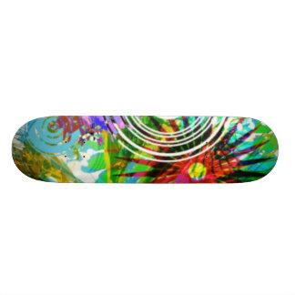 Floral Board Skate Board
