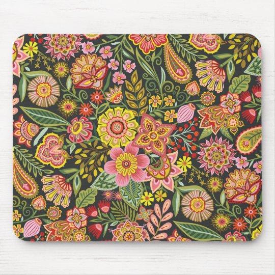 Floral Bomb Mousepad