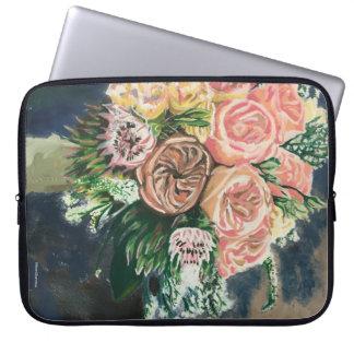Floral Bouquet Computer Laptop Sleeve