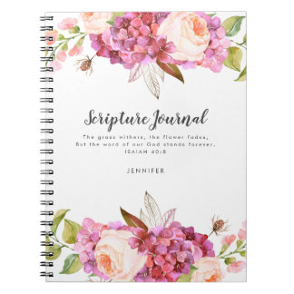 Floral Bouquet Personalized Scripture Journal