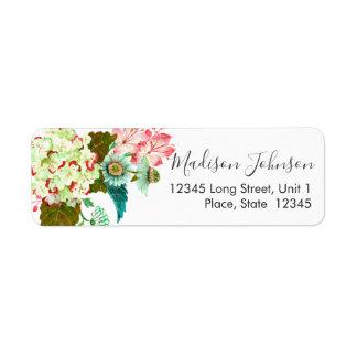 Floral | Bridal Shower | Return Address Labels