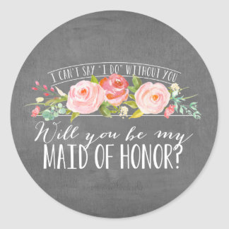 Floral | Bridesmaid Stickers