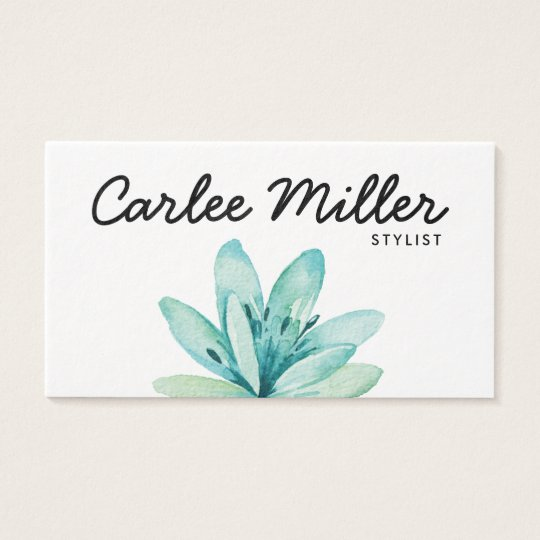 Floral Business Card | Girly Business Card