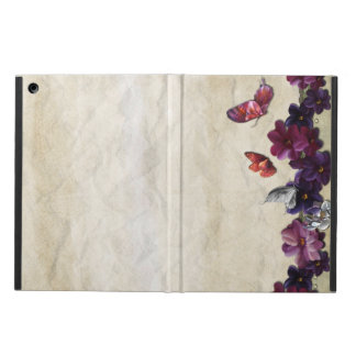 Floral butterflies iPad air case