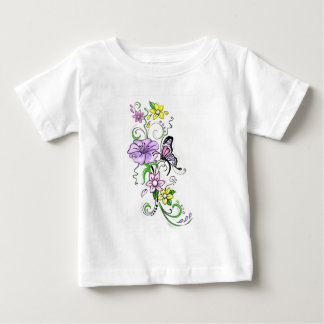 Floral Butterfly Tshirts
