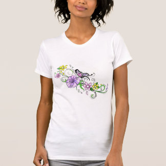Floral Butterfly Tanks