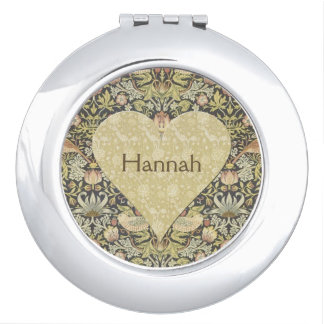 Floral by W. Morris personalized Compact Mirror