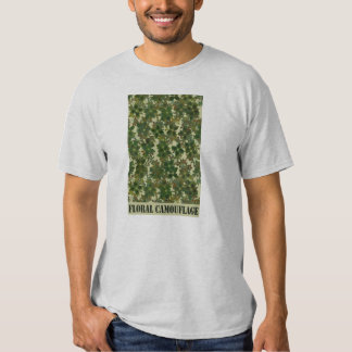 Floral Camouflage T-Shirt
