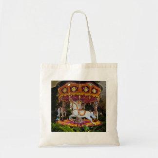 Floral Carousel Wynn Las Vegas Tote Bag