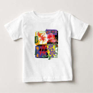 Floral Celebration - Baby t'shirt Baby T-Shirt