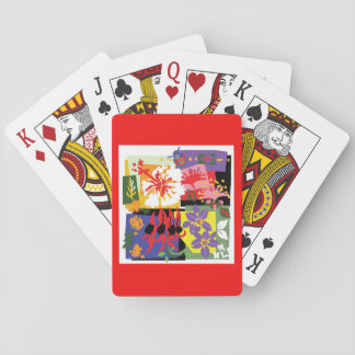 Floral celebration - Playing Cards
